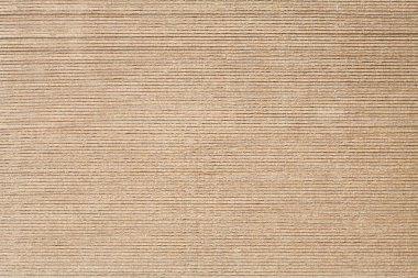 Stack of brown cardboard