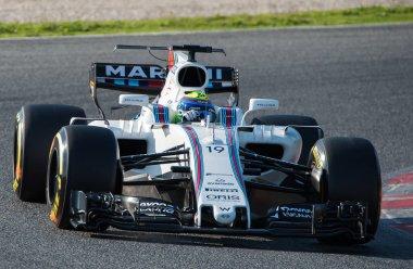 FELIPE MASSA (WILLIAMS) - F1 TEST DAYS 2017