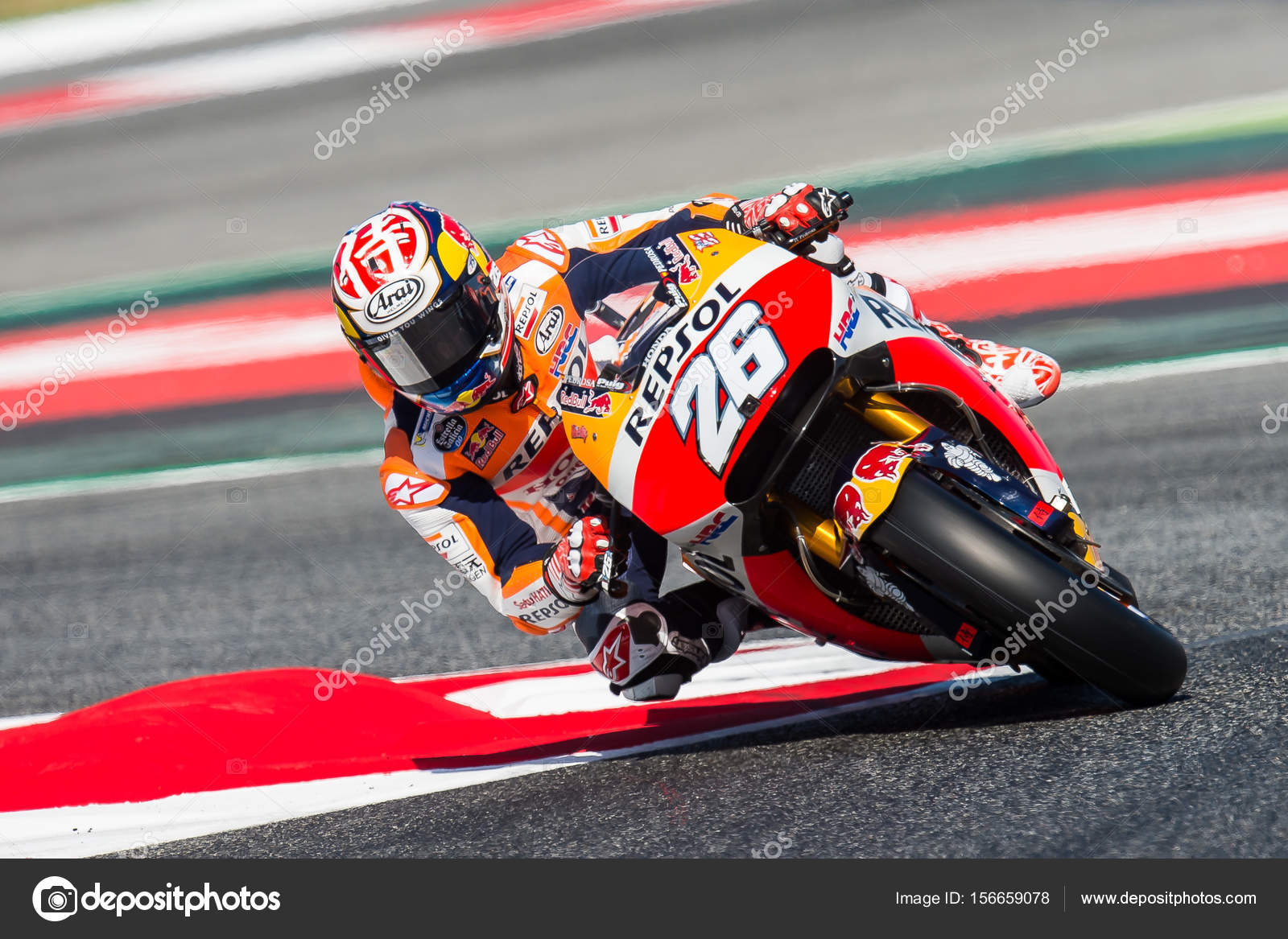 Gp Catalunya Moto Gp Dani Pedrosa Repsol Honda Team Stokovoe