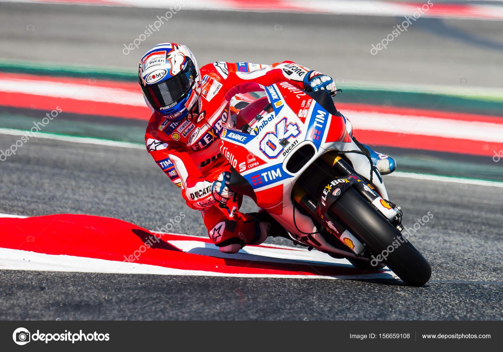 Gp Catalunya Moto Gp Andrea Dovizioso Stokovoe Redakcionnoe Foto