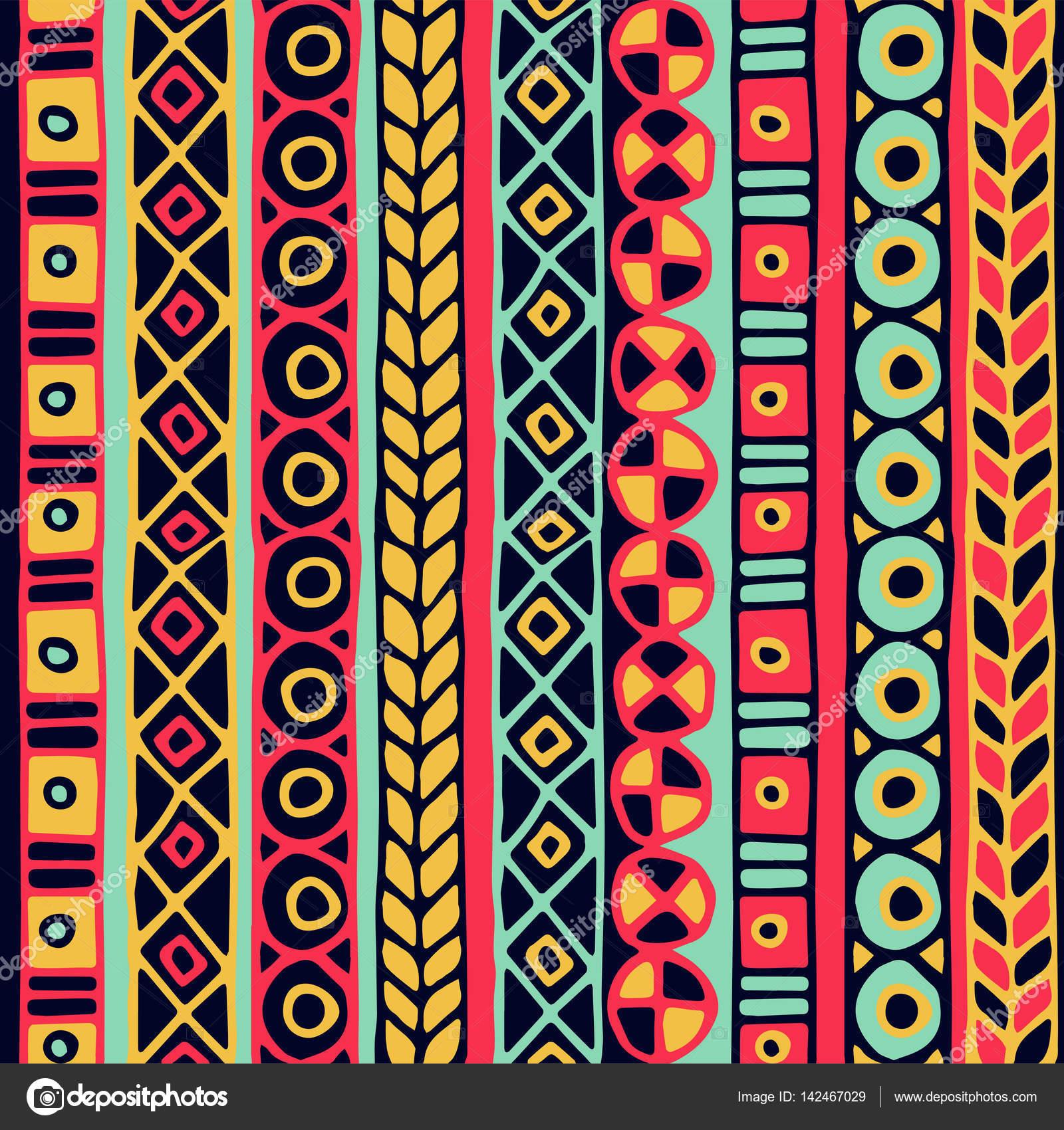 Ethnicity Wallpaper Ethnicity Seamless Pattern Boho Style
