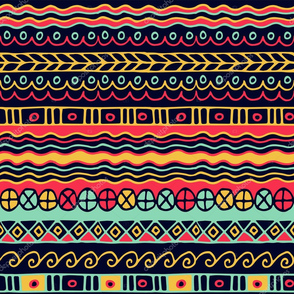 colored seamless pattern of stripes.