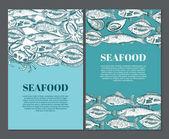 Mořské plody konstrukce. Styl formuláře