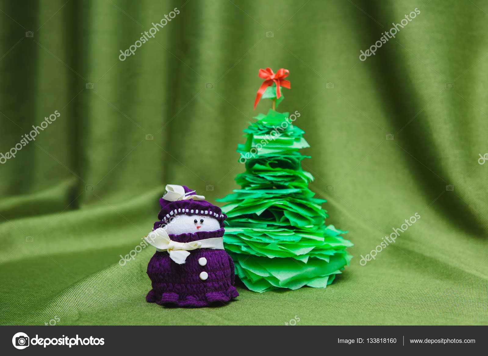 Christmas Handicrafts Decoration Stock Photo C 160275 133818160