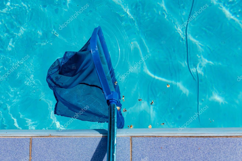 Swimming pool blue cleaning tool