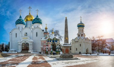main temples of the Sergius Lavra