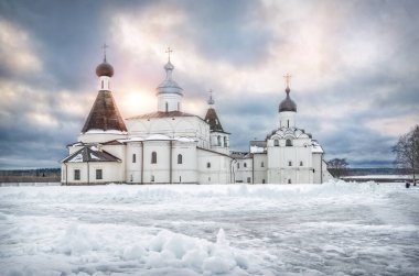 temples in the Ferapontov Belozersky monastery