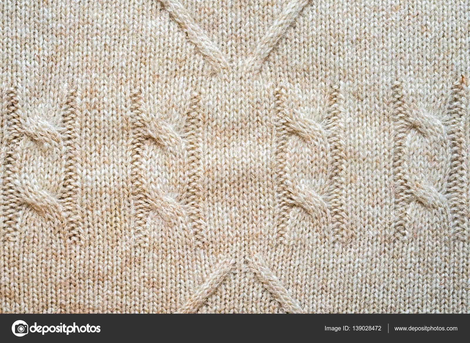 patrón de fondo punto con trenzas y rombos, neutro color beige lana ...