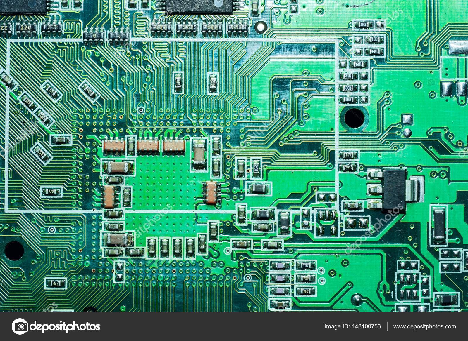 Motherboard Digital Chip Circuit Board Electronic Computer Hardware Technology Photo By Elf 11