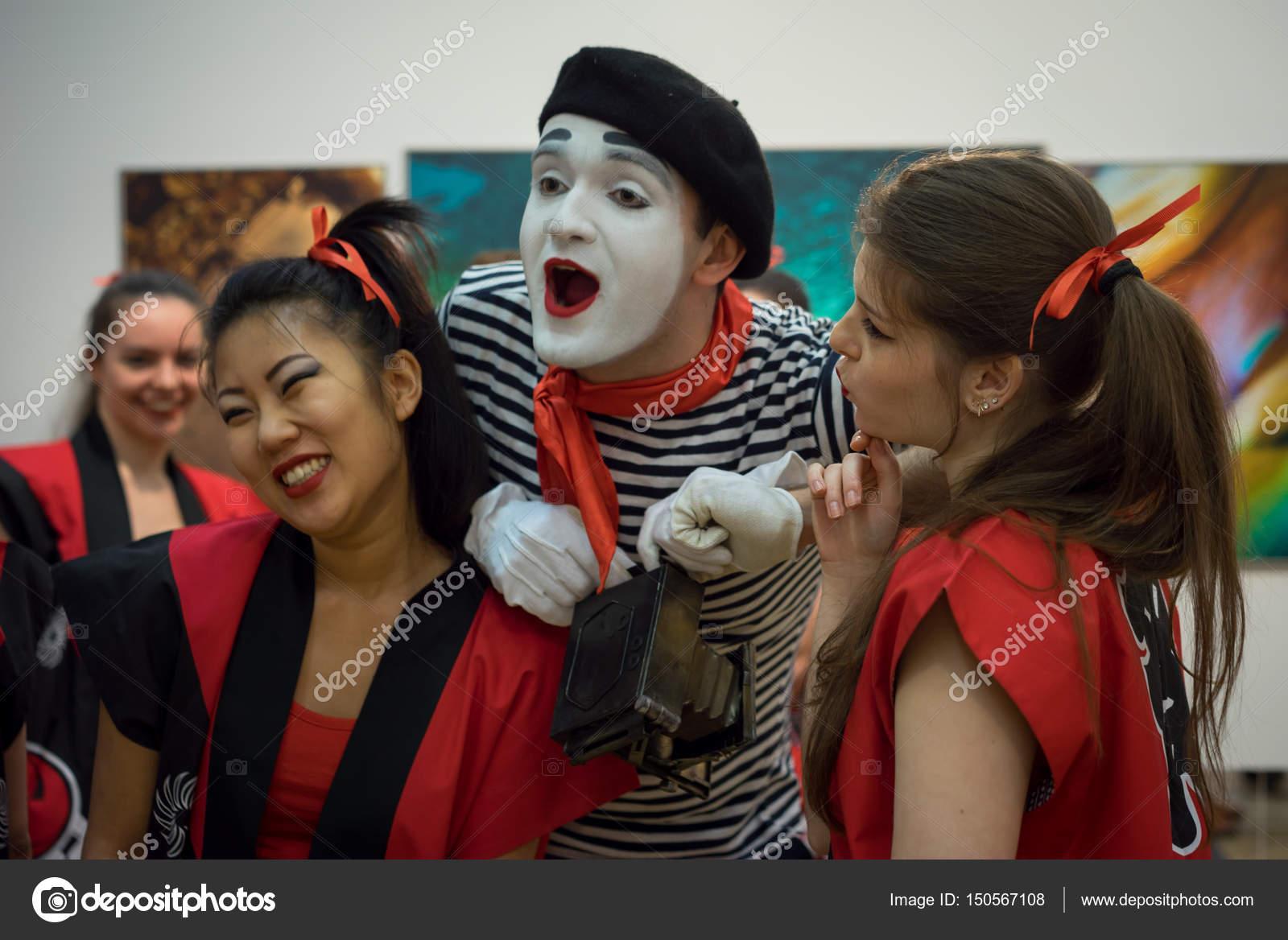 russische Mädchengruppe