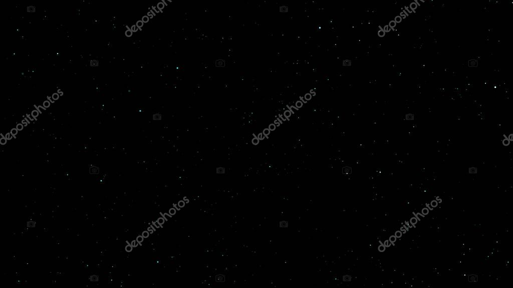 stars and constellations towards the black sky background