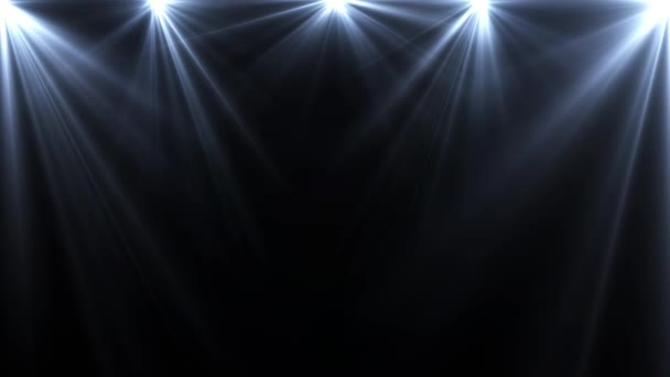 spotlámpa, világítás flare egy sötét háttér, absztrakt animáció