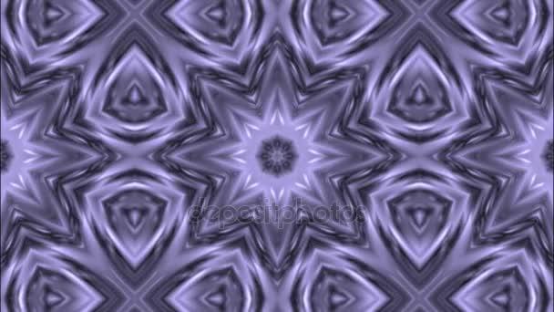 Caleidoscopio modello 3d render sfondo. Stampa grafica geometrica Mandala. Elemento di disegno psichedelico