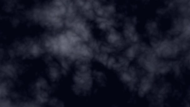 abstract nightly clouds landscape animation