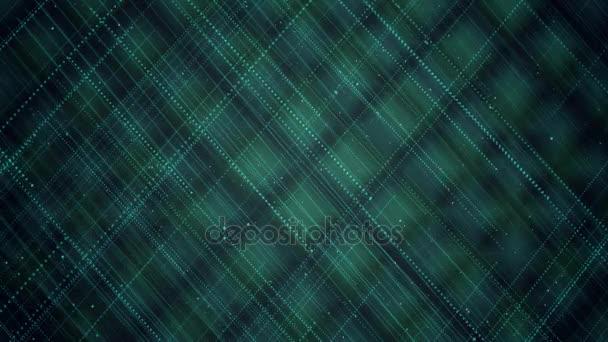 Geometrické pozadí abstraktní. Originální textura lineární techno s opakováním tenkých čar a teček na světle rhombus. Prvek obchodní koncepce animace.