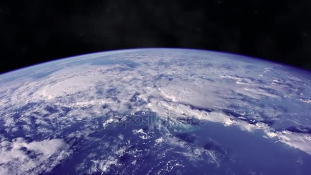 Planet Earth from the space with dramatic view. The elements of this image furnished by NASA.