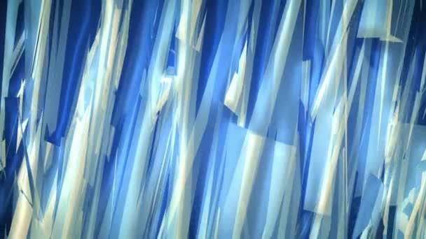 modré pozadí abstraktní kompozice, s tahy a geometrické linie