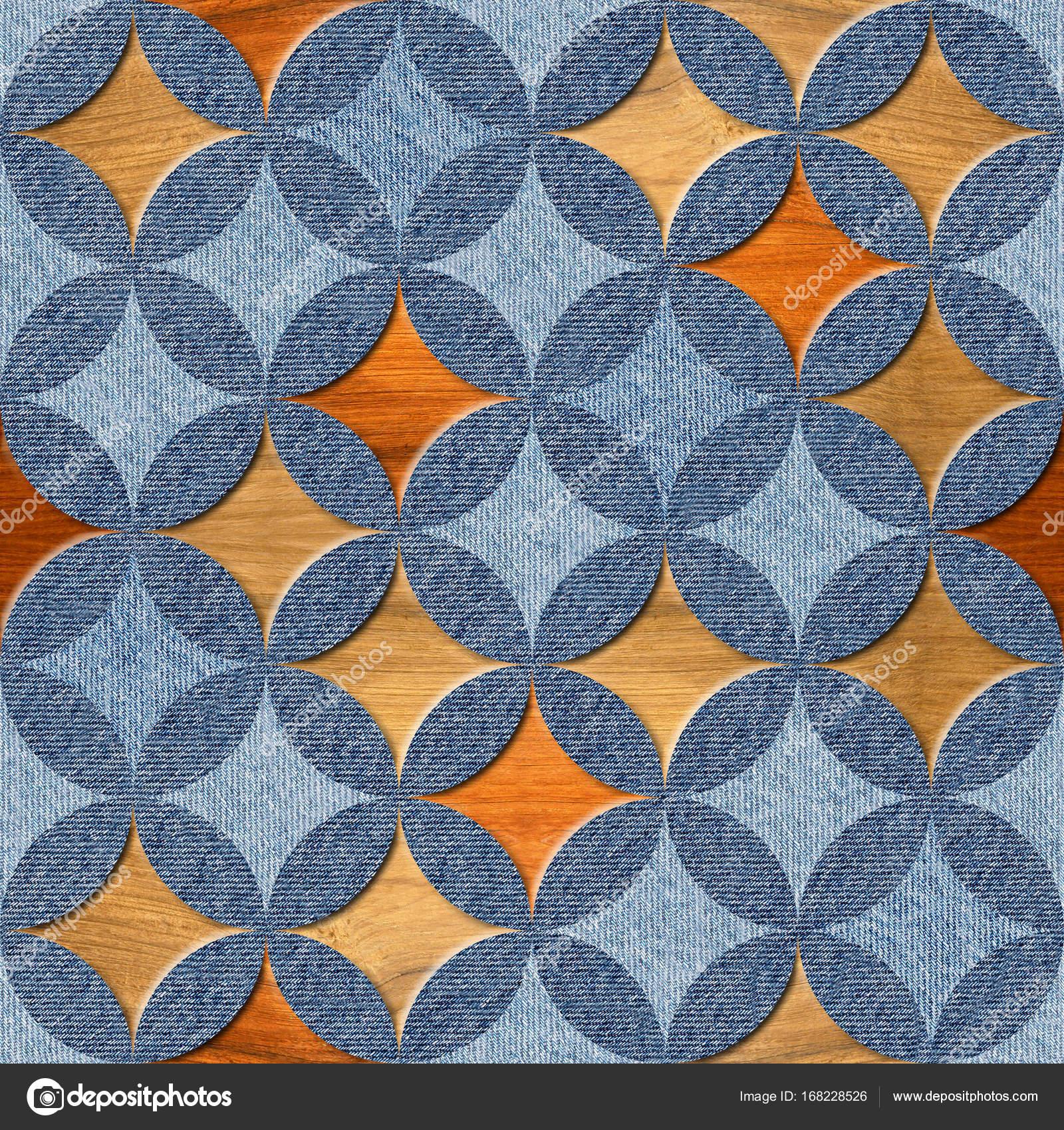 Decoration Papier Peint Motif De Lambris Blue Jeans Et Texture