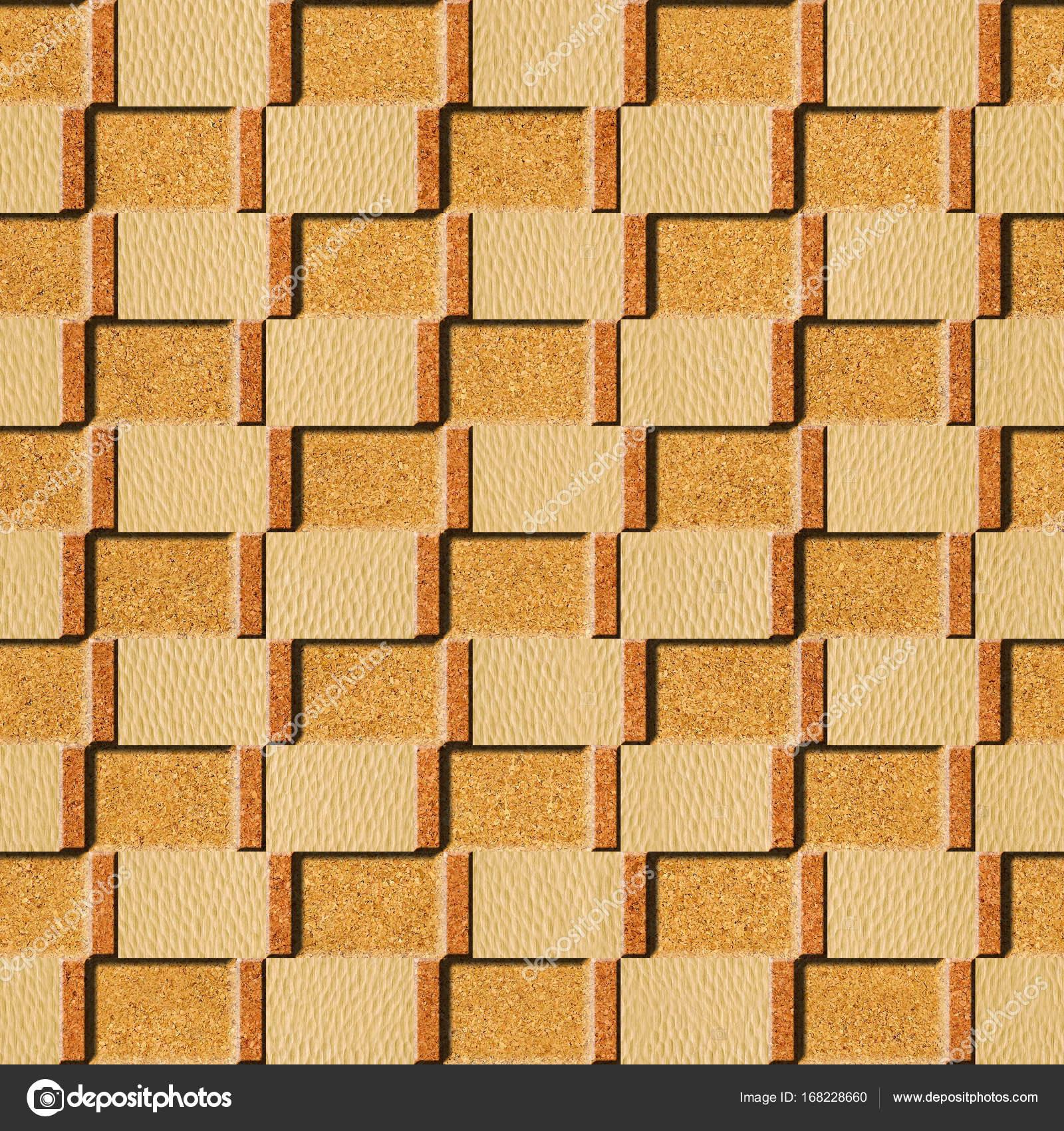 Interior wall panel pattern - seamless background - texture cork ...