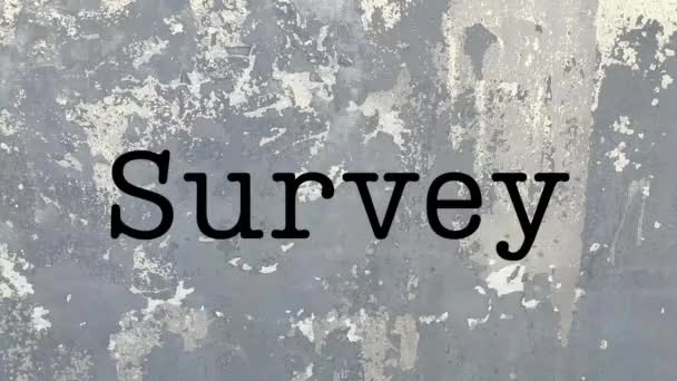 Survey word questions busines review