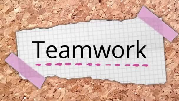 Team teamwork business work word