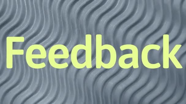Feedback business sign word