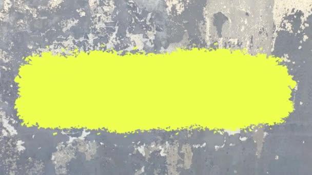 Betonový prostor pro štětce pozadí