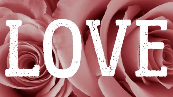 Love text word heart Valentines Day