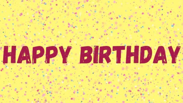 Happy Birthday card anniversary text
