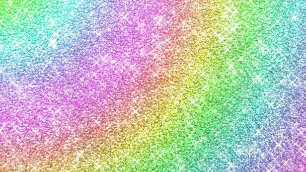 Szivárvány színek csillogó multikolor háttér
