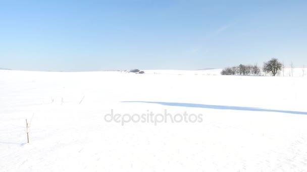 186ada42f8 Χειμερινό τουριστικό με χιονοπέδιλα βόλτα στο χιονισμένο drift ...