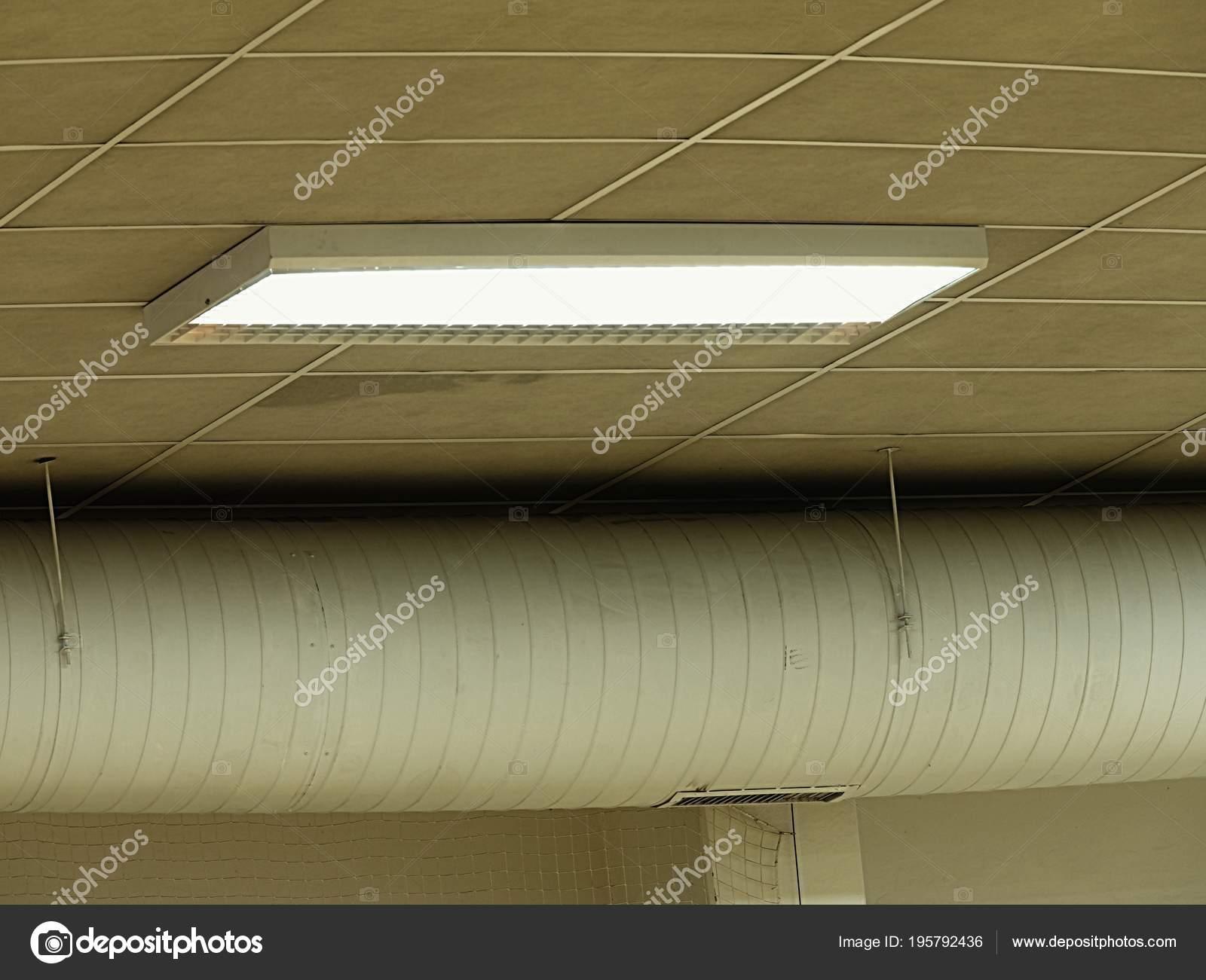 Plafoniere Soffitto Industriale : Plafoniera fluorescente soffitto bianco illuminazione industriale
