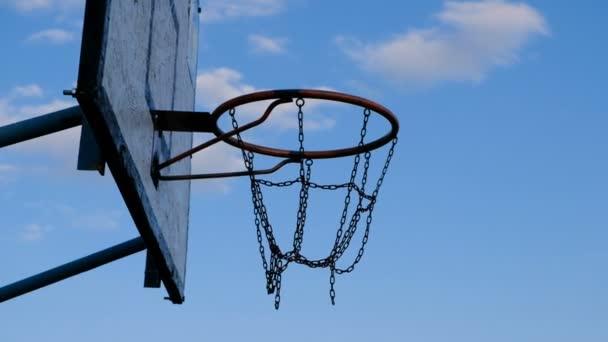 Kosárlabda labda hiányzik a kosár