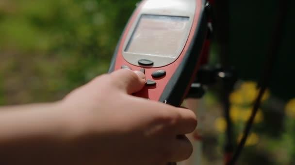 Pracovní Příprava geodetické zařízení pro průzkum