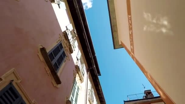 Úzké starobylé italské ulice