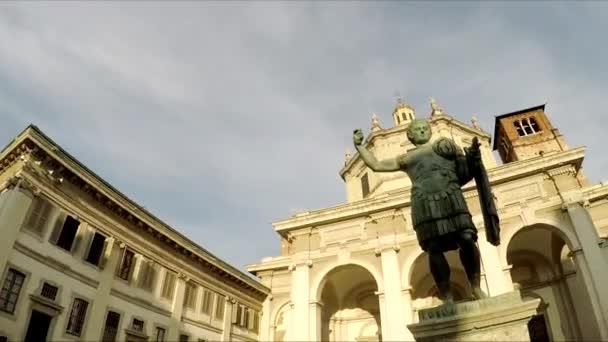 Milan. Olmetto Piazza Vetra. Colonne di San Lorenzo.