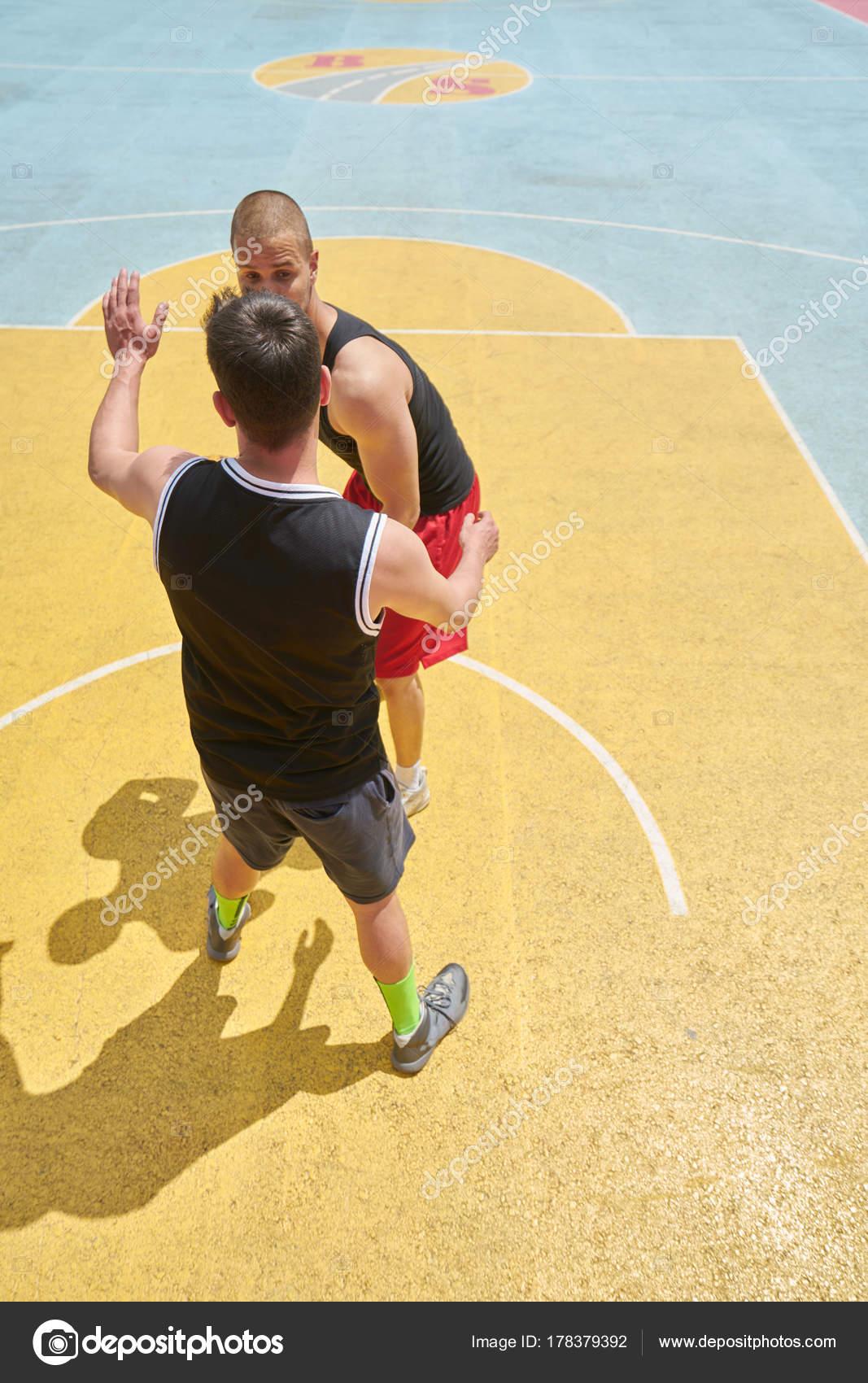 Couple Guys Playing Basketball Stock Photo C Ancikainfot 178379392