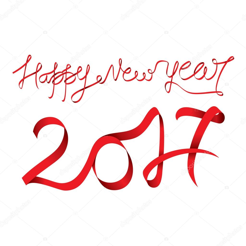 kreative Neujahrs-Begrüßung — Stockvektor © vectotaart #125174680