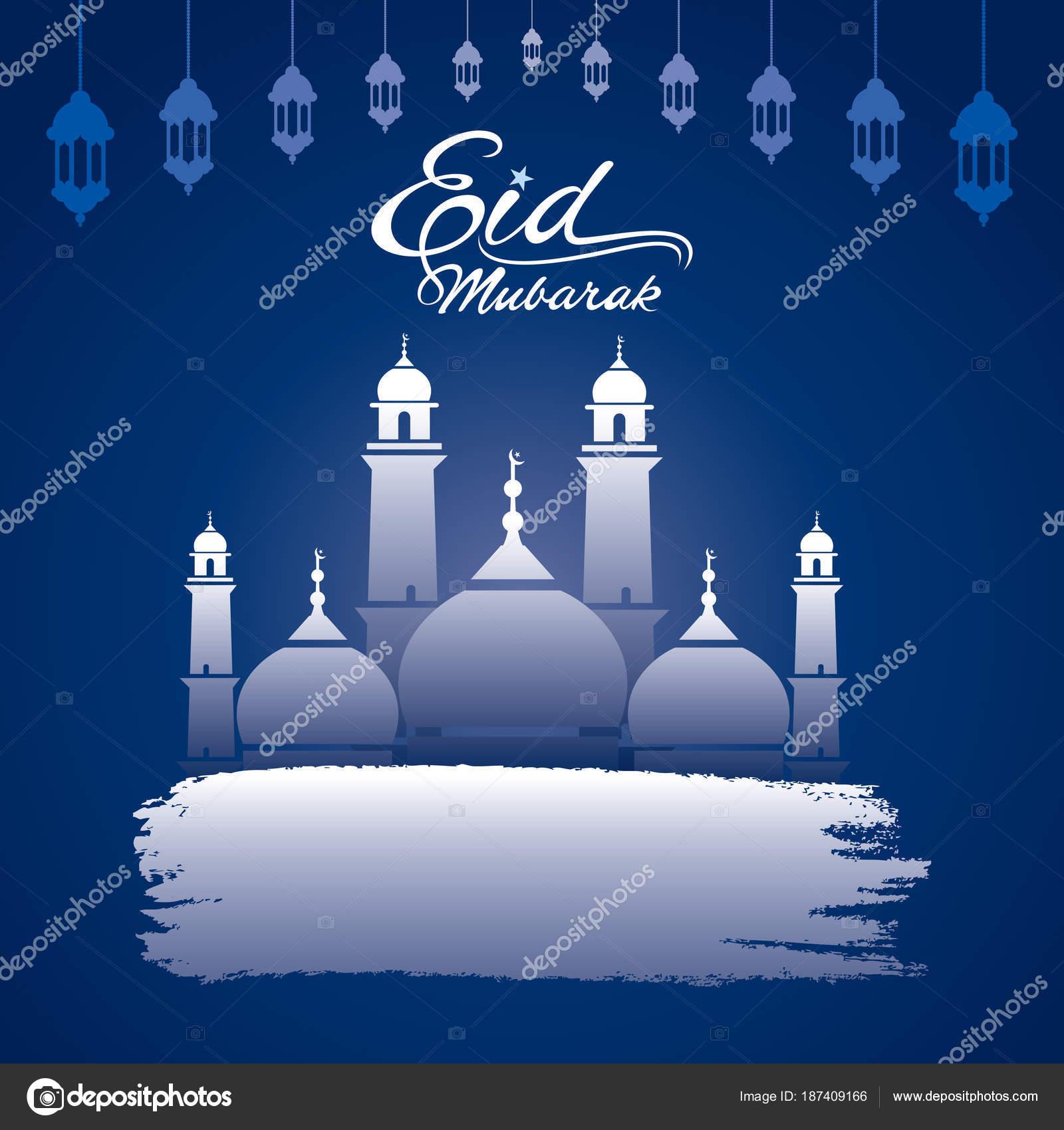 Happy eid mubarak greeting design stock vector vectotaart 187409166 creative eid mubarak festival greeting design vector by vectotaart kristyandbryce Choice Image