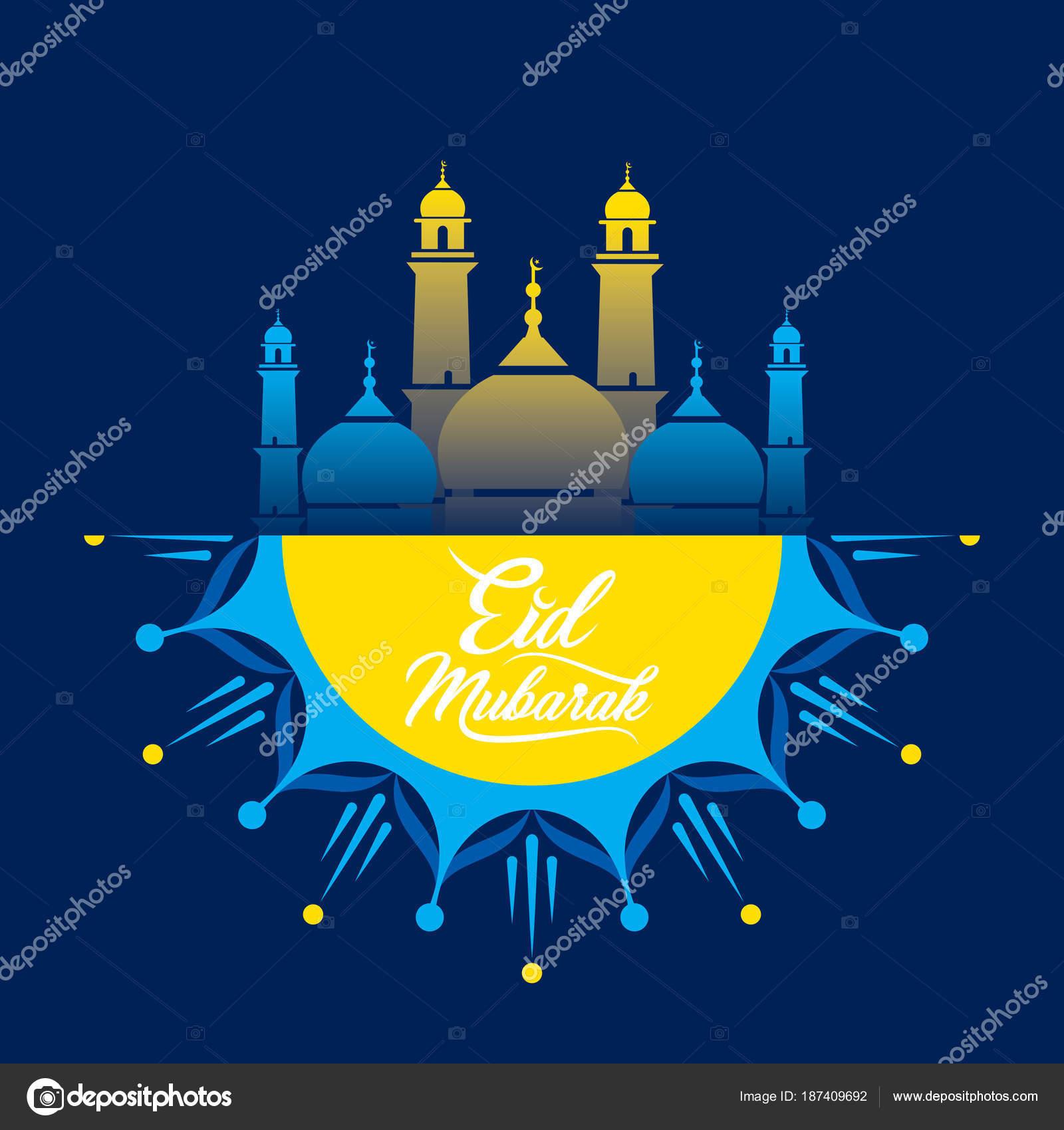 Cool Id Festival Eid Al-Fitr Greeting - depositphotos_187409692-stock-illustration-happy-eid-mubarak-greeting-design  Collection_15664 .jpg