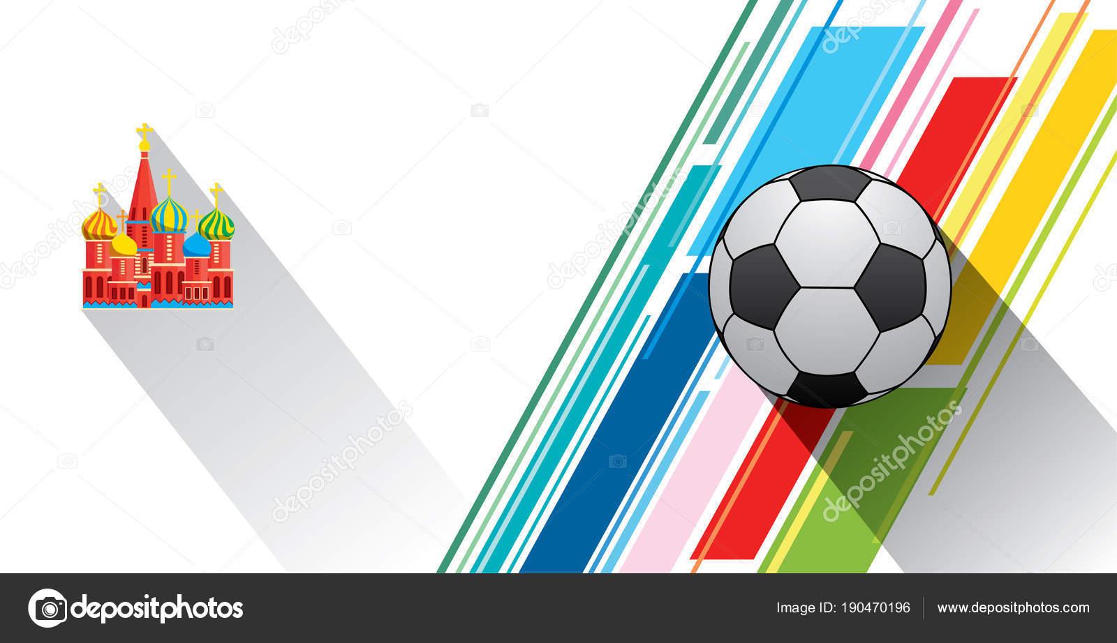 Diseño De Carteles De Copa De Fútbol Mundial