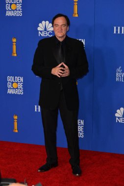 LOS ANGELES, USA. January 05, 2020: Quentin Tarantino in the press room at the 2020 Golden Globe Awards at the Beverly Hilton Hotel