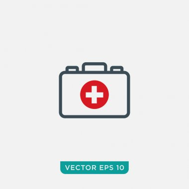 First Aid Sign Icon Design, Vector EPS10