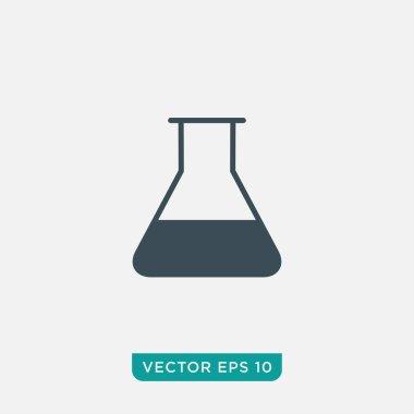 Flask Icon Design, Vector EPS10