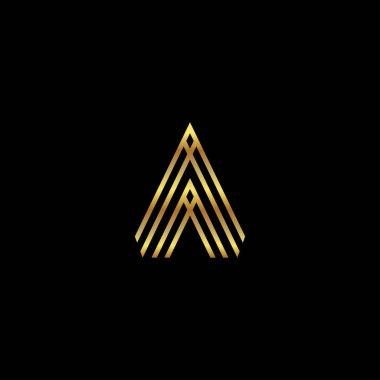 Letter A Logo Design Vector EPS10