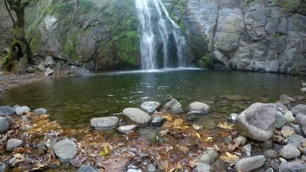 Vodopád pohled krásná příroda