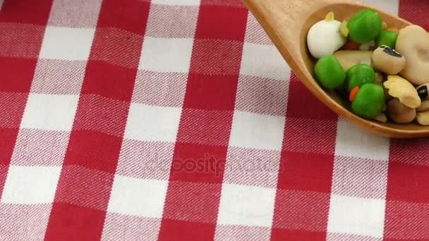 Hülsenfrüchte köstliche und gesunde natürliche Mischkost