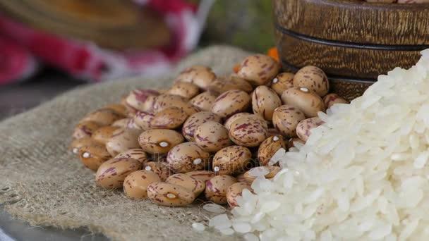 Cibo delizioso e sano naturale Mix legumi