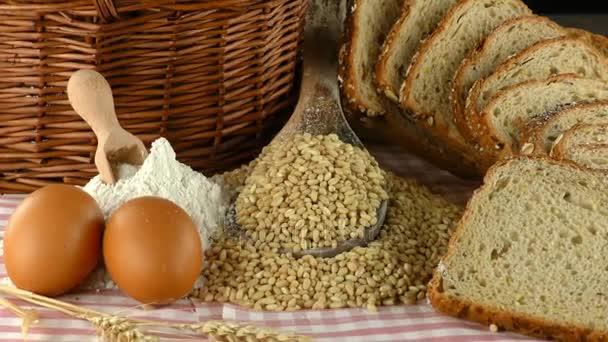leckeres frisches Brot Food-Konzept