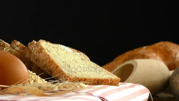 Výborný čerstvý chléb potravin Concept